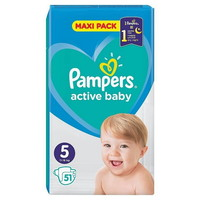 PAMPERS MAXI PACK S5 51 (11-16)