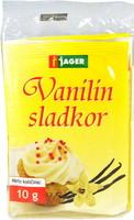 SLADKOR VANILIN 5X10G JAGER