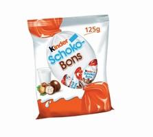 ČOKOLADNI BONBONI SCHOKO-BONS KINDER, FERRERO, 125G