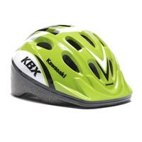 Zaščitna kolesarska čelada Kawasaki , zelena, M