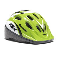 Zaščitna kolesarska čelada Kawasaki , zelena, S
