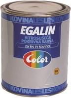 Pokrivna barva za les in kovino Egalin, 0,75 L, črna