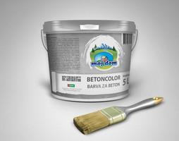Barva za beton Moj Dom, 5 L, siva