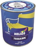 Emajl Tessarol, 0,75 L, srebrn