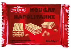 NAPOLITANKE VAFLI NOUGAT 50G
