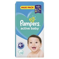 PLENICE PAMPERS MAXI PACK S4+ 53 (10-15)