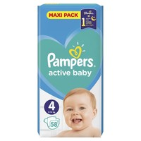 PLENICE PAMPERS MAXI PACK S4 58(9-14)