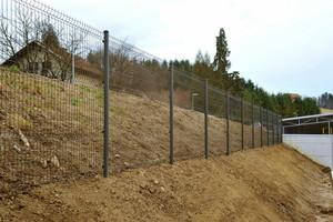 Panelna ograja OXI-siva