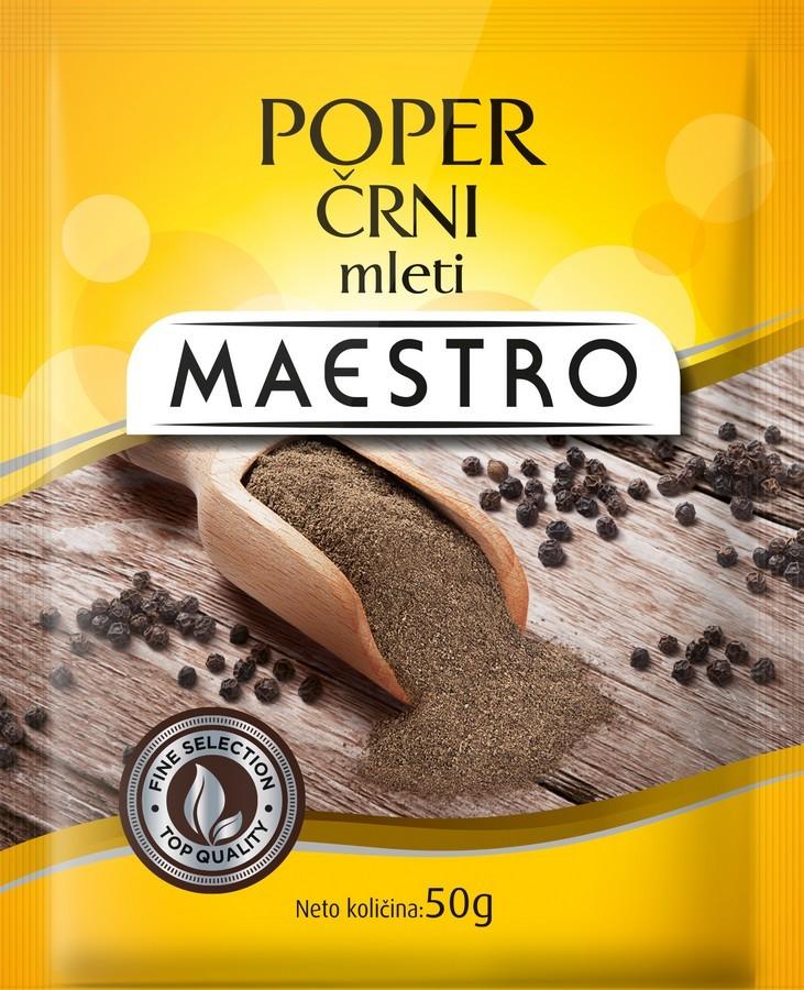 69961/POPER-CRNI-MLETI-50G-MAESTRO