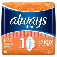 ALWAYS ULTRA NORMAL+ 10KOS