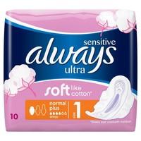 ALWAYS ULTRA SENSITIVE NORMAL +10