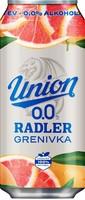PIVO UNION RADLER 0,5L GRENIVKA 0,0%ALK
