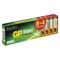 BATERIJE GP SUPER LR6 8+4
