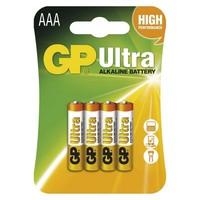 BATERIJE GP ULTRA LR03 4/1