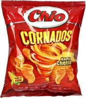 ČIPS CHIO CORNADOS 80G SIR