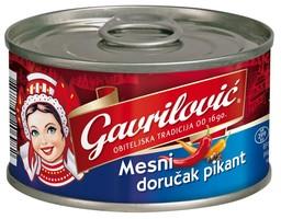 MESNI ZAJTRK PIKANT 150G GAVRILOVIČ