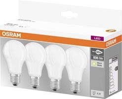 ŽARNICA OSRAM LED  8,5W 827 E27 4/1