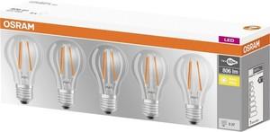 ŽARNICA OSRAM LED FIL. 7W/827 E27 5/1